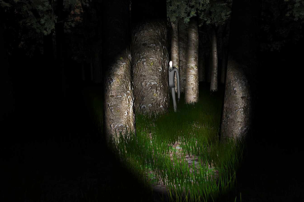 Slenderman has followed you into your memories!