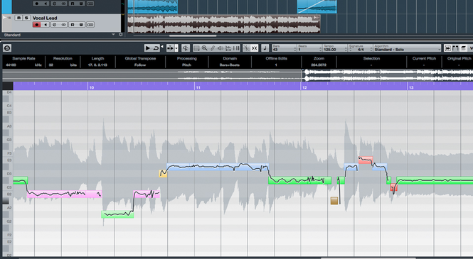 Cubase Screenshot