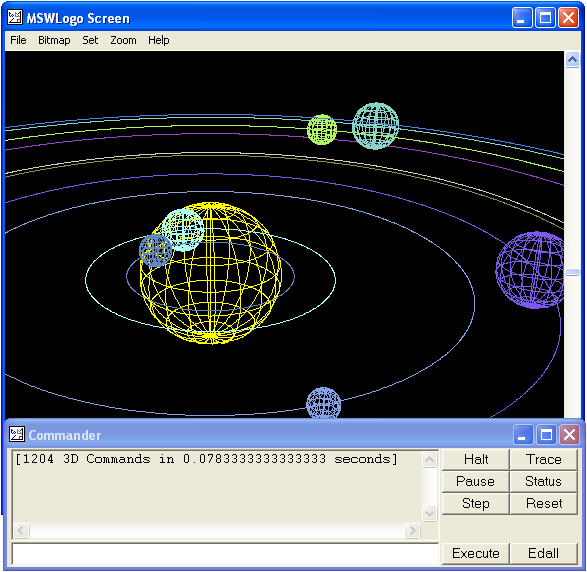 MSWLogo Screenshot