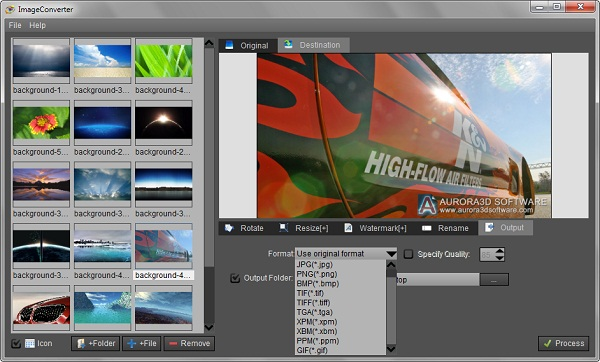 ImageConvertPro Screenshot