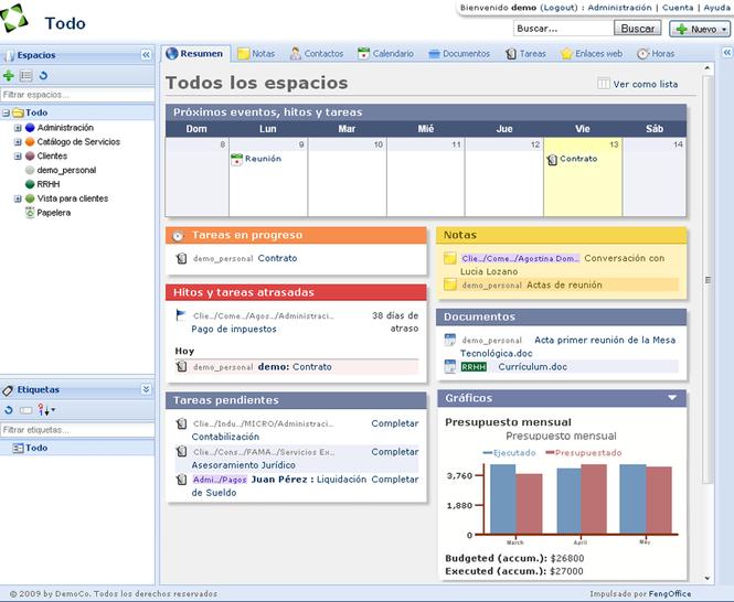 Feng Office Screenshot 2