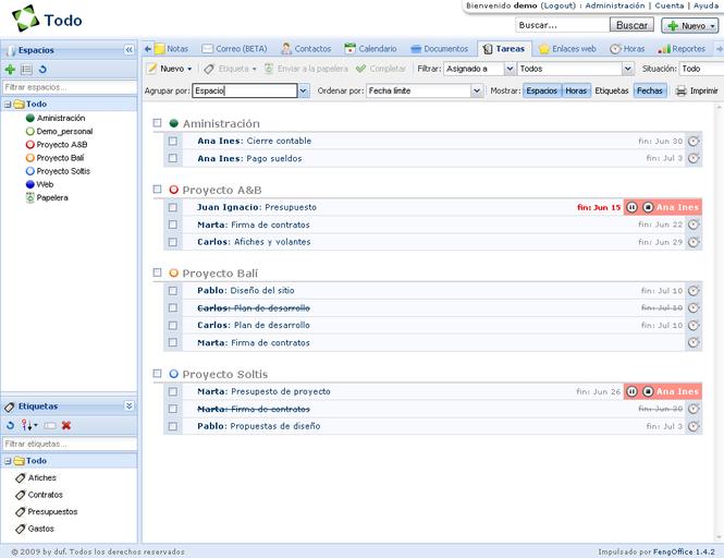 Feng Office Screenshot 3