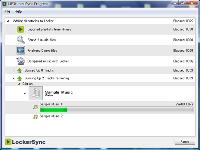 LockerSync Screenshot