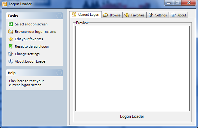 Logon Loader Screenshot 1