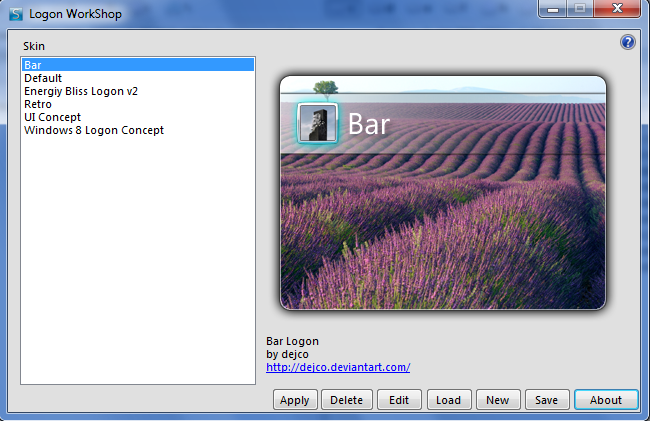 Logon WorkShop Screenshot