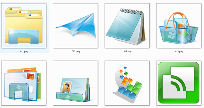 Windows 7 Icon-Pack Screenshot