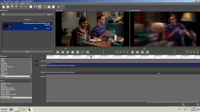 VideoLAN Movie Creator Screenshot