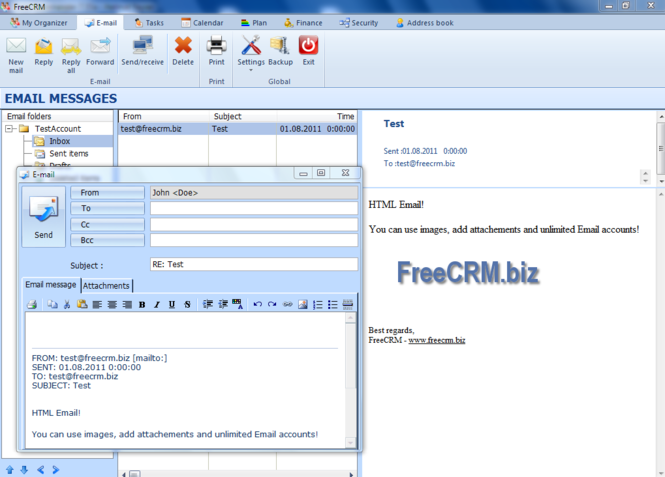 Free CRM Screenshot 2