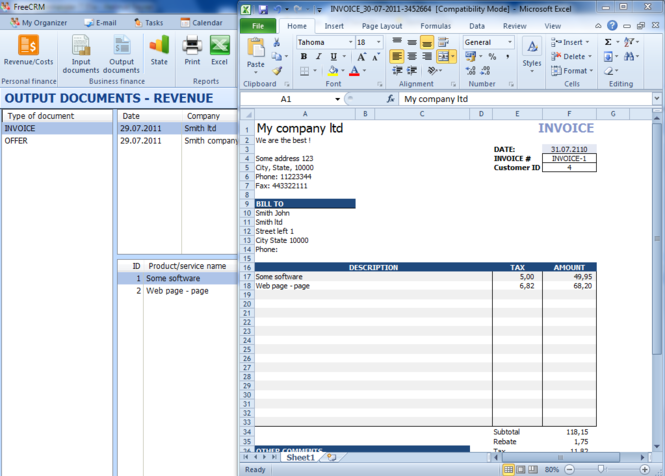 Free CRM Screenshot 3