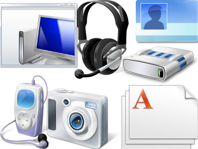 Windows 7 PDC Icons Screenshot