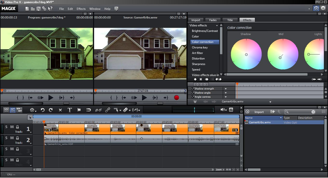 Magix Video Pro X Screenshot 2
