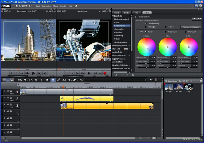 Magix Video Pro X Screenshot 4