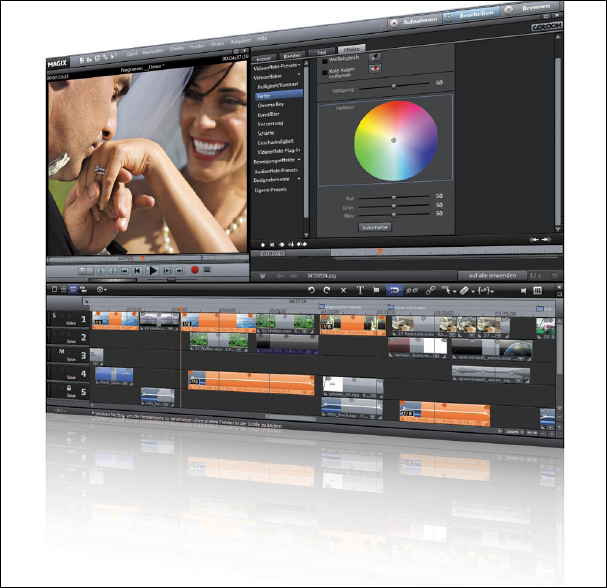 Magix Video Pro X Screenshot 1