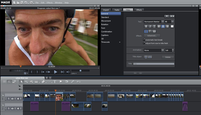Magix Video Pro X Screenshot 3
