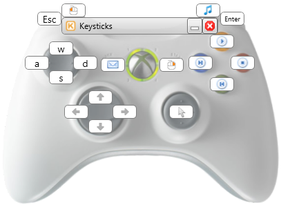Keysticks Screenshot
