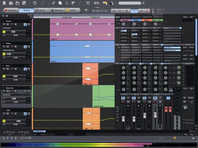 MAGIX Samplitude Producer Screenshot 2