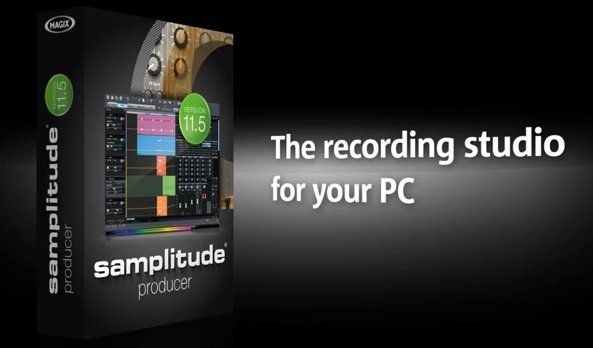 MAGIX Samplitude Producer Screenshot