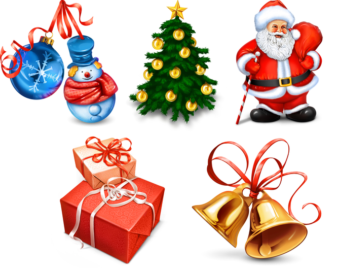 Christmas Icons Screenshot 1
