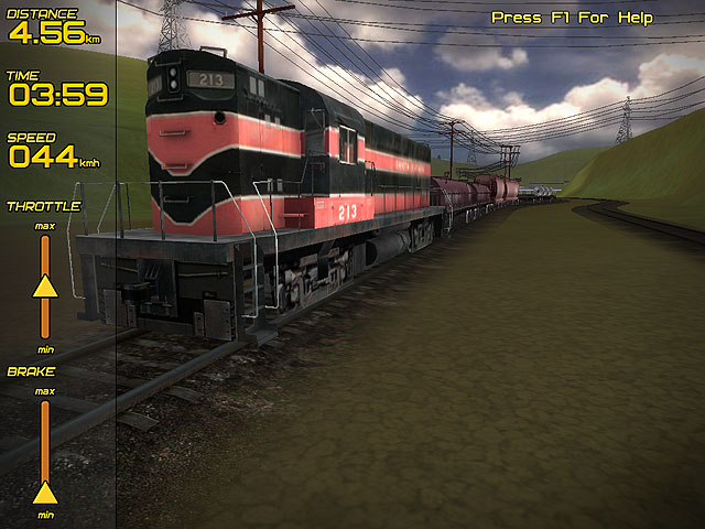 Freight Train Simulator Screenshot 1