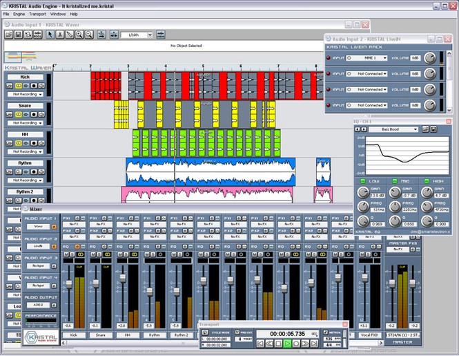 KRISTAL Audio Engine Screenshot