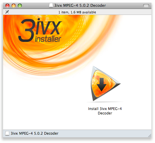 3ivx MPEG Screenshot