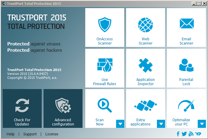 TrustPort Total Protection Screenshot 2