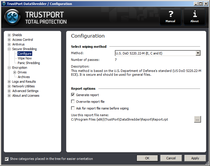 TrustPort Total Protection Screenshot 4