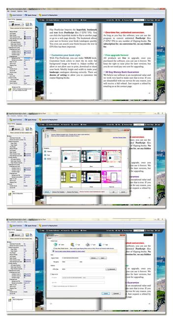 Page Flipping Postscript Screenshot 1