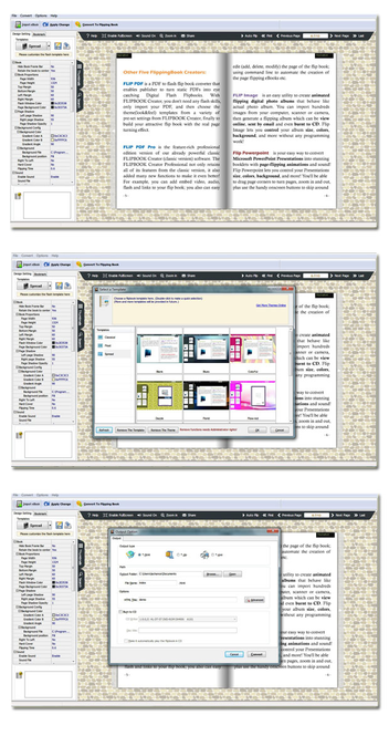 Page Flipping e-Book Screenshot 1