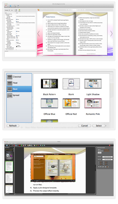 Page Flipping PDF Pro for Mac Screenshot