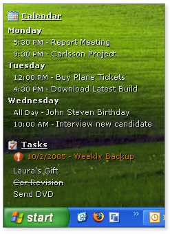 DeskTask Screenshot