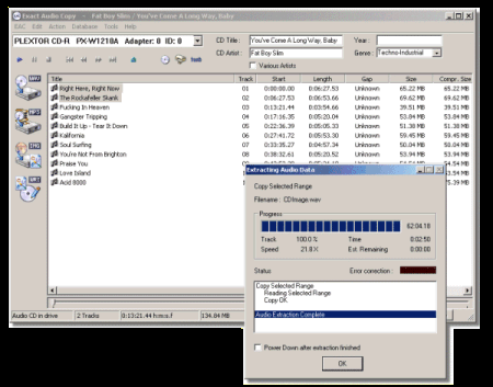 Exact Audio Copy Screenshot