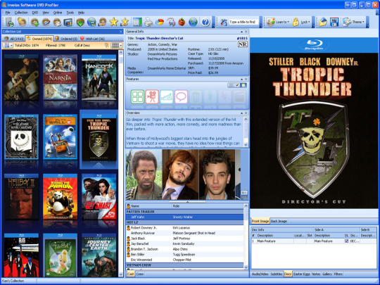 DVD Profiler Screenshot 2