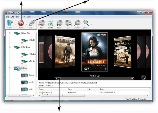 FarStone VirtualDrive Pro Screenshot 1