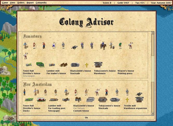 FreeCol Screenshot 2