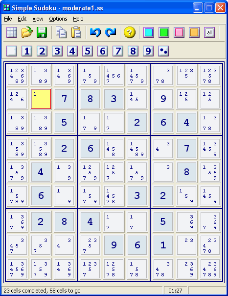 Simple Sudoku Screenshot 1