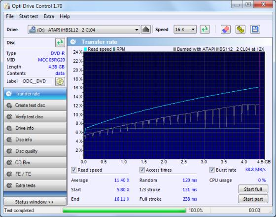 Opti Drive Control Screenshot