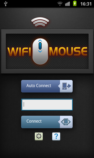 WiFi Mouse Screenshot 1