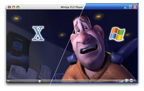 Wimpy FLV Player Screenshot 1