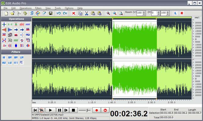 Edit Audio Pro Screenshot