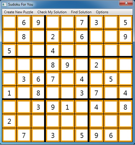 Sudoku For You Screenshot 1