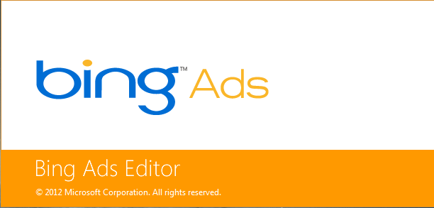 Bing Ads Editor Screenshot 1