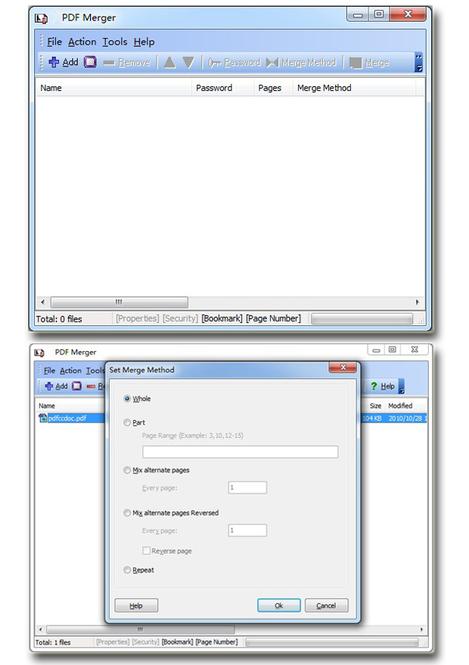 Wise PDF Merger Screenshot 1