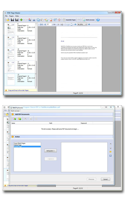Wise PDF Page Master Screenshot 1