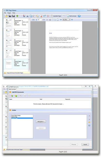 Wise PDF Page Master Screenshot