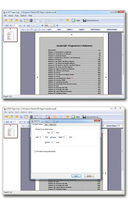 Wise PDF Page Crop Screenshot 1