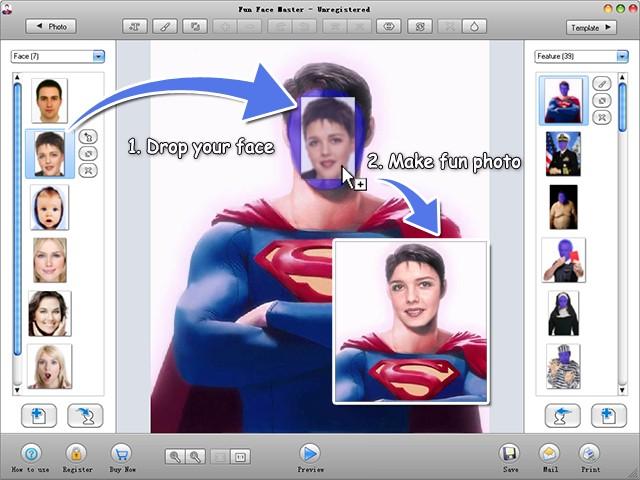 Fun Face Master Screenshot