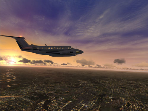 Microsoft Flight Simulator X Screenshot 1