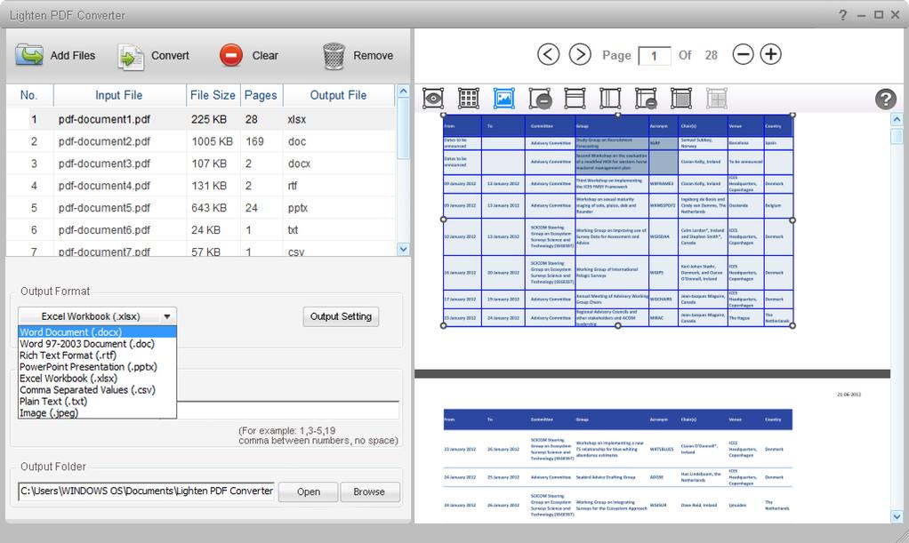 Lighten PDF Converter Master Screenshot 2