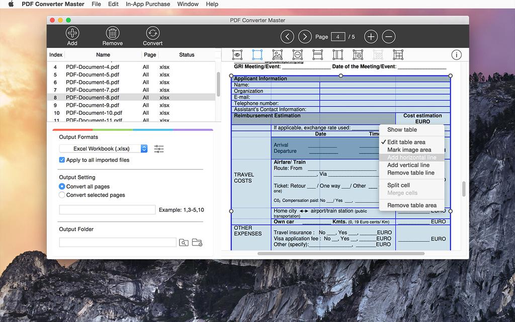 Lighten PDF Converter Master for Mac Screenshot 8